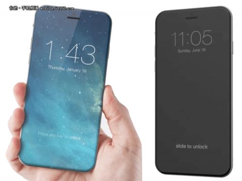 傳Apple iPhone 8將採用OLED螢幕 並取消實體Home鍵