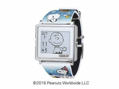 Smart Canvas電子紙療癒手錶 日本‧台灣限定嚕嚕米新成員加入