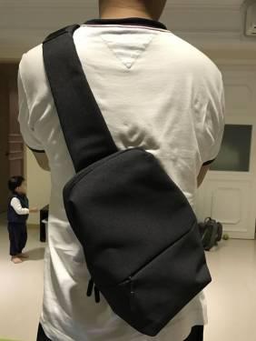 小米雙11活動 人氣王新星-多功能休閒胸包
