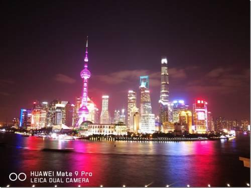 Huawei Mate 9 Pro Leica Dual Camera 上海外灘夜拍隨手測