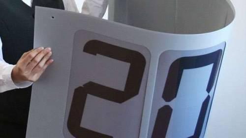 你的iPad2有這麼軟Q嗎 這才是可以彎曲的顯示器