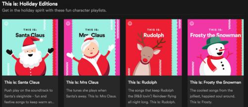 聖誕節快樂 Spotify推出「聖誕快樂」系列歌單