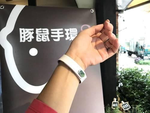 豚鼠手環2在台上市 智慧體感結合穿戴裝置