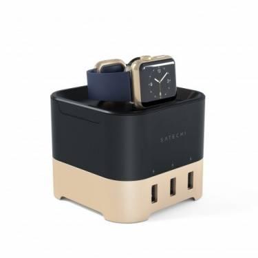 化繁為簡 Satechi極簡風Apple Watch多功充電座