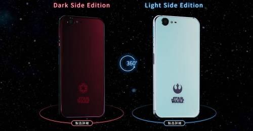 粉絲必收 日本推出STAR WARS星際大戰客製化手機