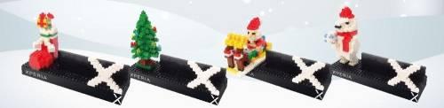 Xperia歡樂手作迎聖誕 Sony推出專屬限量積木手機架