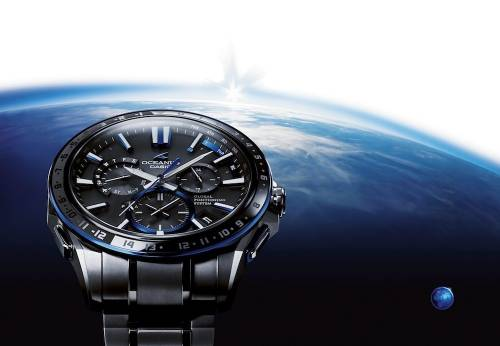 GPS混合電波時計的領導品牌CASIO 日本傳統工藝「紋紗塗」設計概念加持 OCEANUS OCW-G1200極緻登場
