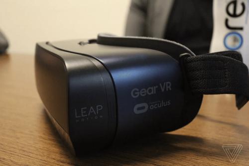 Leap Motion推出VR體感裝置 使Gear VR等VR裝置具有手部追蹤能力