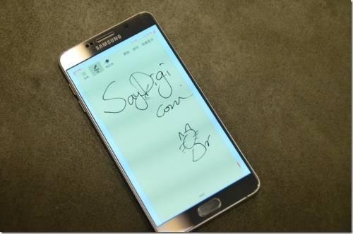 Samsung Galaxy Note 5 詳測 化繁為簡 更具時尚魅力