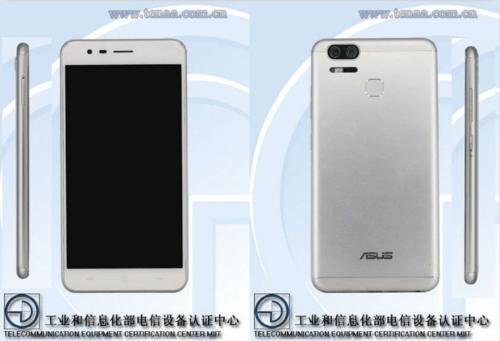 雙鏡頭ASUS ZenFone 3 Zoom 中國工信部亮相
