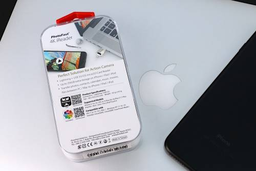 小小一錠威力無比 PhotoFast 4K iReader 蘋果隨身儲存裝置開箱動手玩
