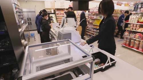 日本超商Lawson與Panasonic合作 推出無人結帳系統
