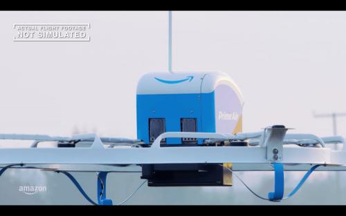 Amazon Prime Air 亞馬遜首次無人機送貨 13分鐘抵達目的地
