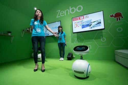 華碩智慧小夥伴Zenbo 2017年起開放預購