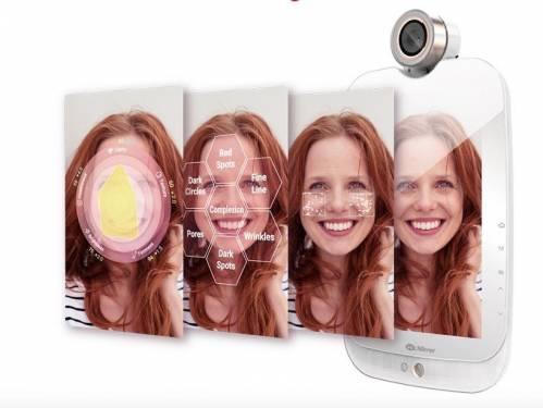 HiMirror魔鏡呀魔鏡 自己的肌膚狀況自己檢測就好