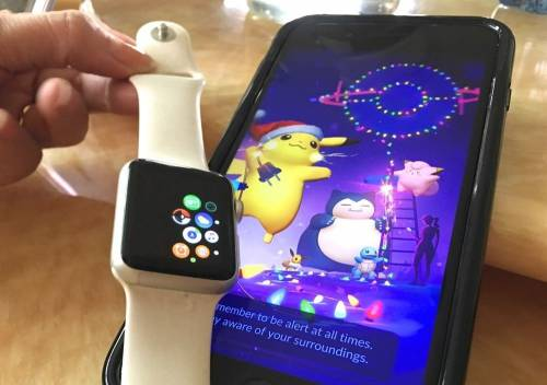 Pokemon GO躍上Apple Watch 孵蛋 抓寶更方便