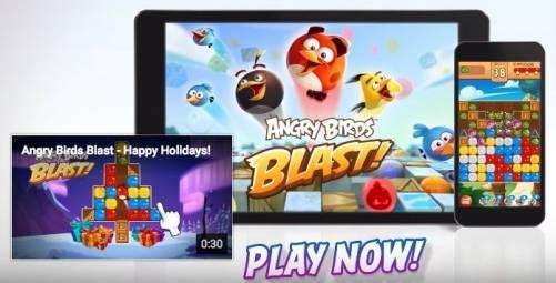 憤怒鳥再出擊 《Angry Birds Blast》登場