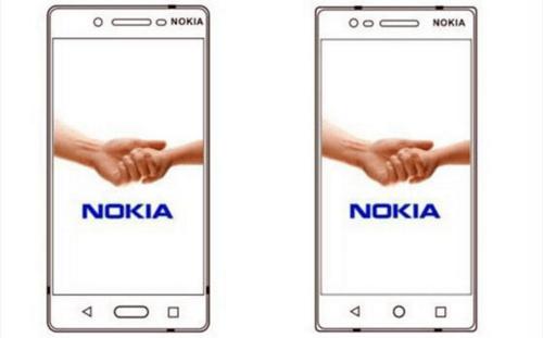 Nokia D1與E1設計圖曝光 螢幕採用窄邊框設計