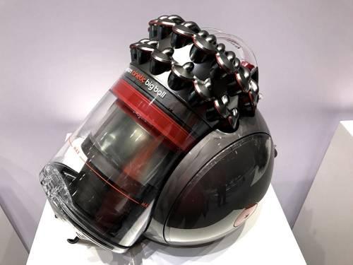 Dyson推出Big Ball吸塵器 首創不倒翁科技怎麼摔都不會倒