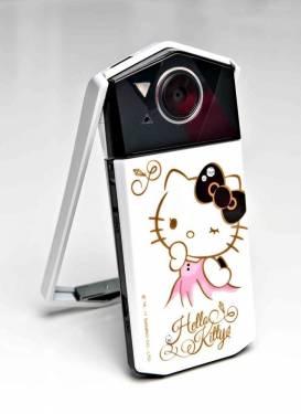 CASIO自拍神器TR70魅力再進 Hello Kitty版全台限量1000台