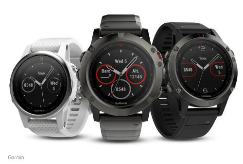 機身雖小 功能俱全 Garmin Fenix 5三款智慧型手錶2017 CES 亮相