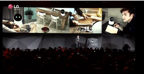 LG 推出機器人小幫手- HUB ROBOT