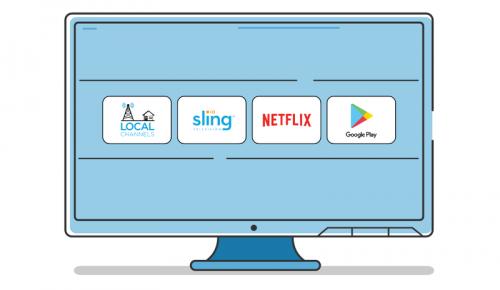 AirTV Player 一款配色活潑的4K Android TV機上盒