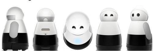 超級可愛的人形機器人Kuri 開放預購