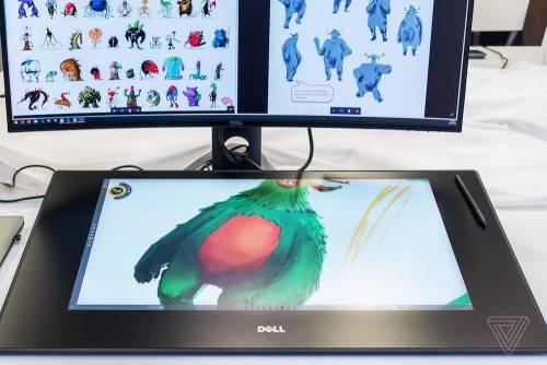 27吋數位畫板 Dell Canvas 2017 CES亮相