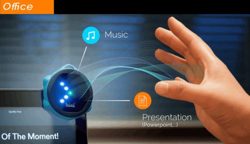 懸浮觸控器Bixi 2.0加入E Ink 顯示螢幕與Alexa助理