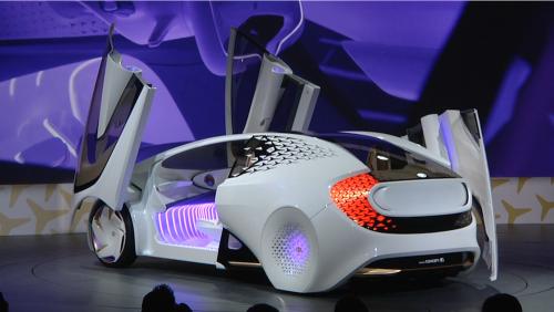 因為愛 所以愛 Toyota全新概念車Concept-i 2017 CES亮相