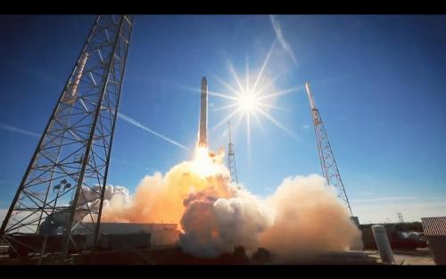 順利復出 SpaceX成功完成火箭發射與回收
