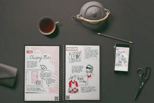 用水擦就可以 Rocketbook推出最新可重複書寫筆記本