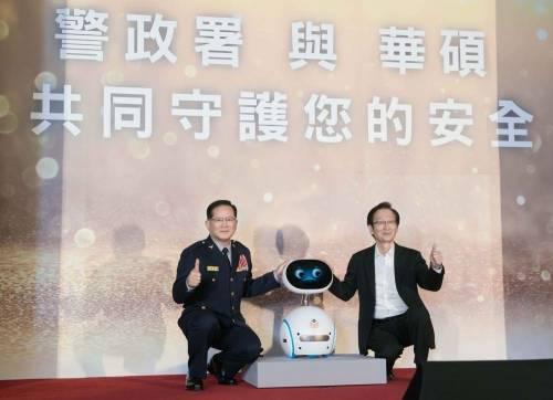 警民科技合作更安心 華碩宣布ZenFone系列機種將預載警政服務App