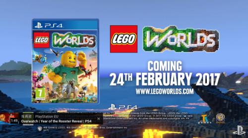 Lego Worlds確定將會登上 Nintendo Switch主機