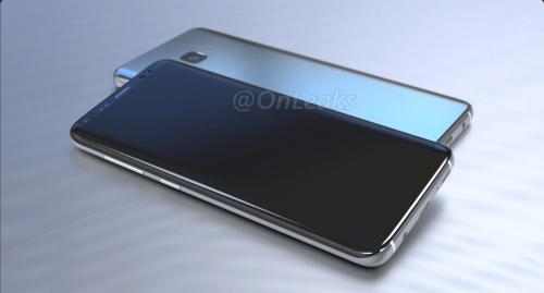 火山口再見 Samsung Galaxy S8機身細節設計曝光