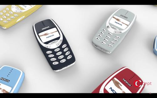 不死神機再現 新Nokia 3310渲染圖曝光
