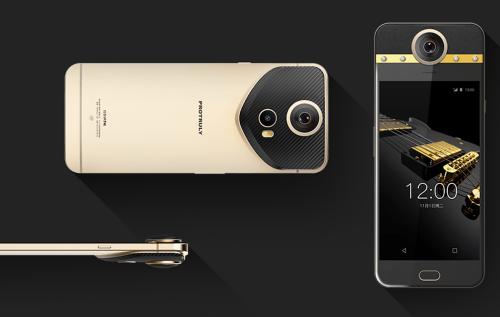 全球首款內建360度相機與四顆鑽石手機 ProTruly Darling亮相