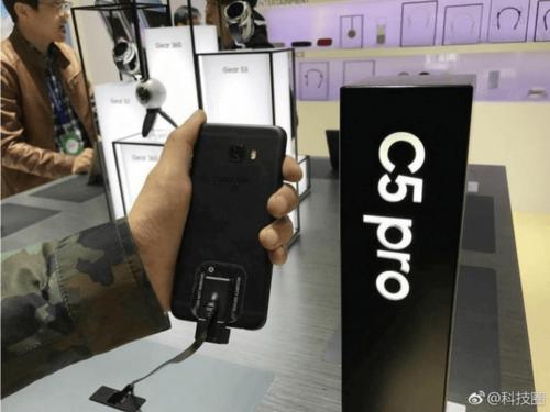 中國首發 三星Galaxy C5 Pro實機曝光