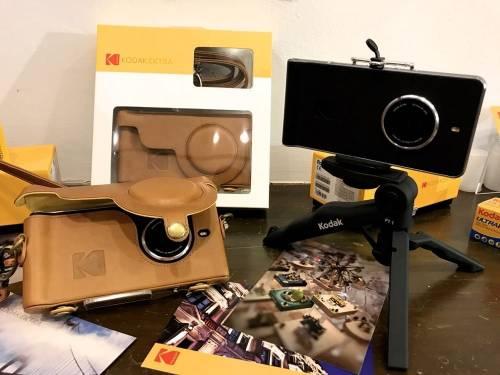 柯達智慧型手機Kodak Ektra終於登台