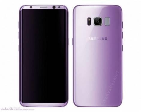 三星Galaxy S8 紫色叫做 「Amethyst(紫晶色)」