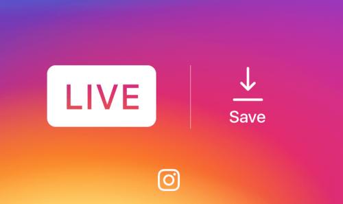Instagram新增直播影片儲存功能 可將直播影片存放在手機中
