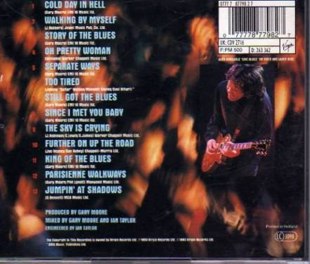 [油炸日音樂專欄] Gary Moore Blues Alive