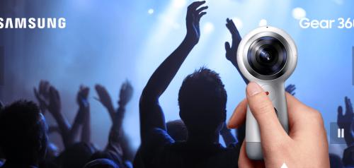 三星新一代Gear 360 可以支援iOS裝置與直播