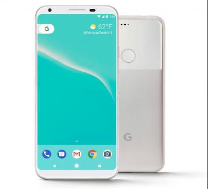 Google Pixel 2渲染圖曝光 有機會採用18:9比例螢幕