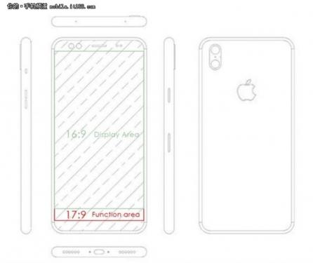 iPhone 8外型設計再次曝光 將採用雙主鏡頭 自拍鏡頭四鏡頭配置