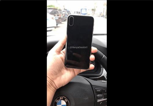 iPhone 8外型再次曝光 這次取消了背蓋上的指紋辨識器