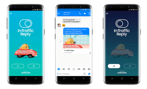 讓駕駛能專心開車 三星將推出行車自動回覆In-Traffic Reply App