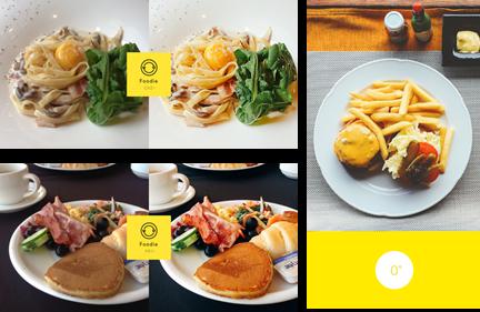 讓美食更垂涎欲滴 LINE推出專拍食物的相機App-Foodie