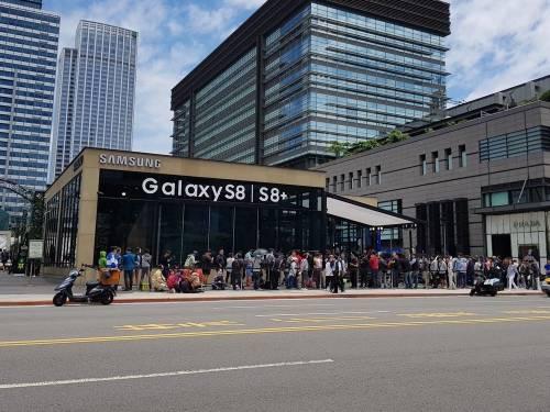 三星Galaxy S8 S8+無邊際魅力橫掃 推出超夯限量排隊禮